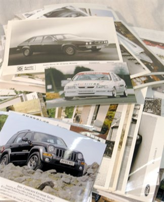 Lot 624-Quantity of British / Kit Car Manufacturer Press Photographs