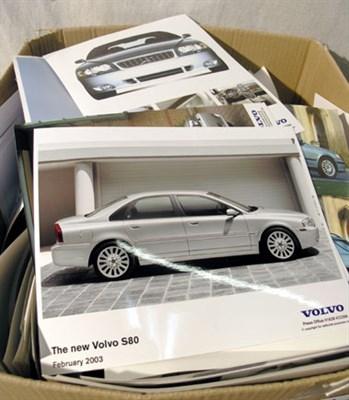 Lot 625-Quantity of International Car Manufacturer Press Photographs