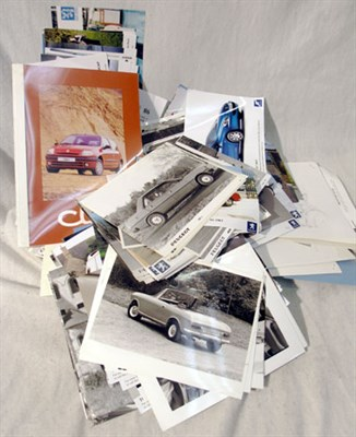Lot 626-Quantity of German & French Car Manufacturer Press Photographs