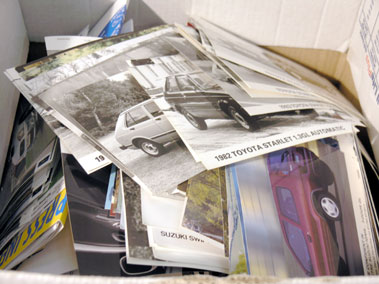 Lot 627-Quantity of Japanese Car Manufacturer Press Photographs
