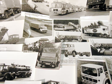 Lot 628-Quantity of Commercial Vehicle Press Photographs