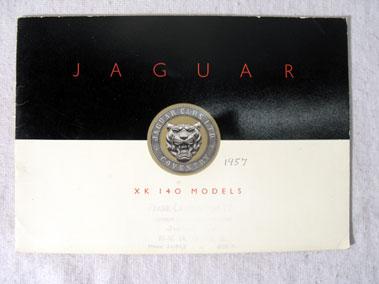 Lot 174-Jaguar XK140 Sales Brochure