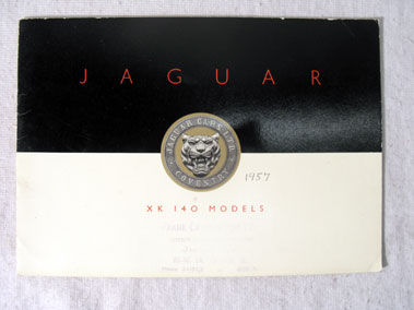 Lot 174-Jaguar XK140 Sales Brochure