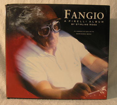Lot 178-Fangio - A Pirelli Album by Stirling Moss - Fangio Signed