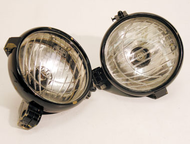 Lot 327-Carl Zeis Jena Headlamps
