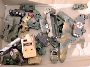 Lot 218-Quantity of Military Models