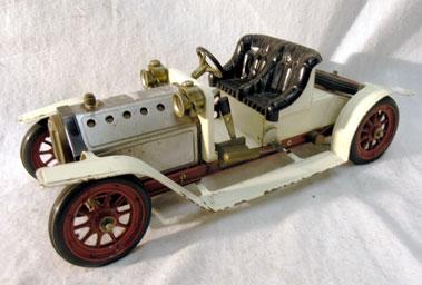 Lot 220-Mamod Steam Car
