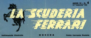 Lot 101-La Scuderia Ferrari - No. 4 - 1936