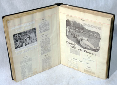 Lot 108-C.K. Mortimer's Personal Scrapbook