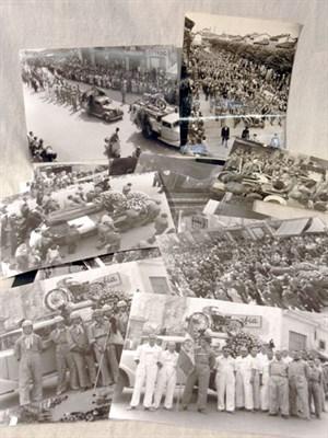 Lot 604-Achille Varzi & Tazio Nuvolari Funeral Photographs