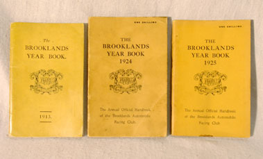 Lot 115-A Run of Brooklands Yearbooks