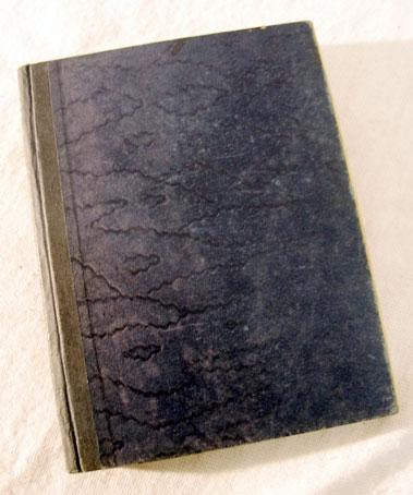 Lot 121-A Hand-Written Pre-War Motor Racing Book