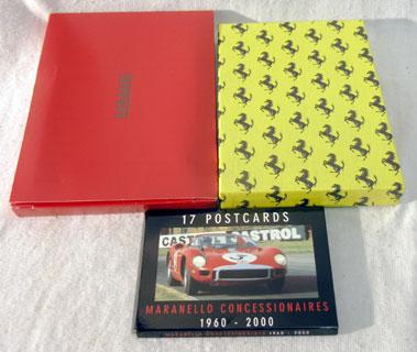 Lot 124-Ferrari L' Unico Leather Bound Book