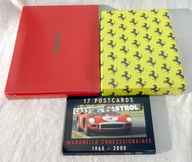 Lot 124-Ferrari L' Unico Leather Bound Book