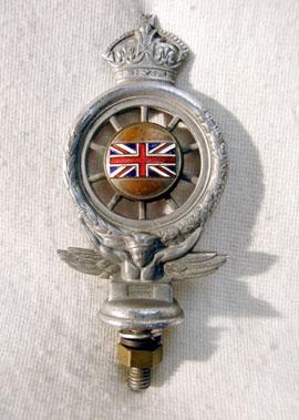 Lot 301-An Early RAC Badge