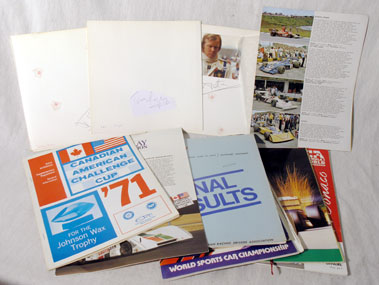Lot 617-Quantity of Signed Items