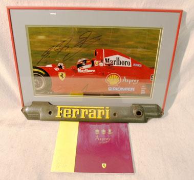 Lot 211-Ferrari Ephemera