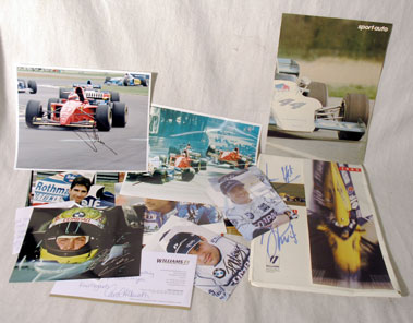 Lot 620-Quantity of Signed Items