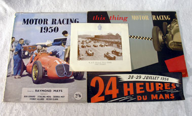 Lot 133-Motor Racing Ephemera