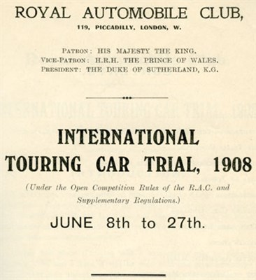 Lot 135-Early RAC Literature