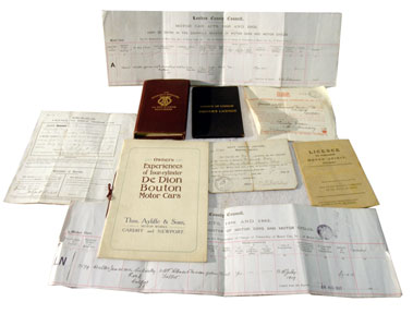 Lot 137-Assorted Early Paperwork