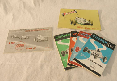 Lot 140-Cooper Cars Literature