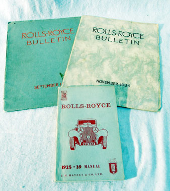 Lot 142-Rolls-Royce Ephemera