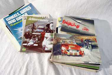 Lot 149-Castrol Achievements Brochures
