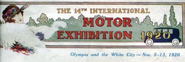 Lot 150 - Olympia - November 1905 Motor Show Programme
