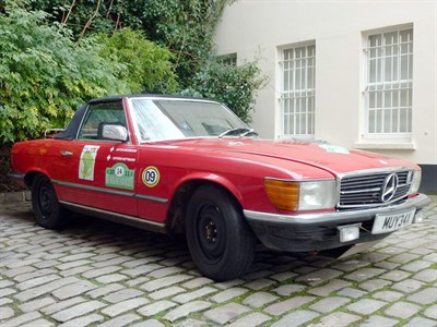 Lot 71 - 1981 Mercedes-Benz 280 SL