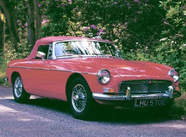 Lot 7-1967 MG B Roadster