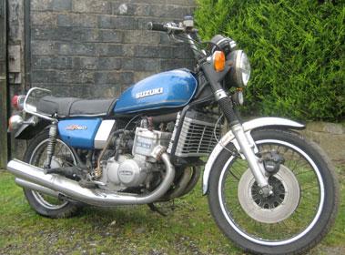 Lot 1-1977 Suzuki GT750