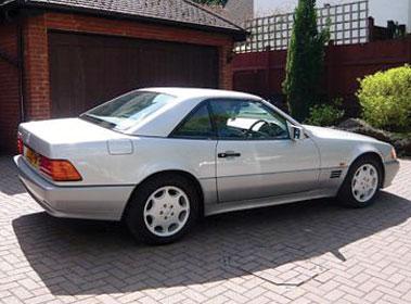 Lot 50-1994 Mercedes-Benz SL 500