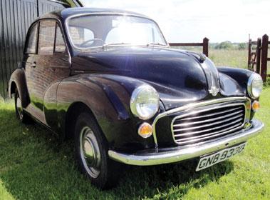 Lot 70-1966 Morris Minor 1000