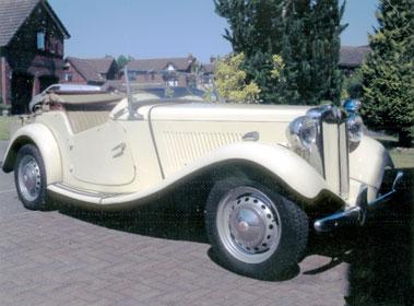 Lot 32-1953 MG TD