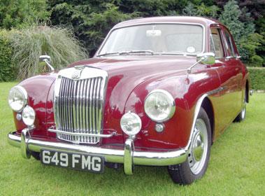 Lot 34-1955 MG Magnette ZA Saloon