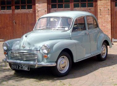 Lot 9-1968 Morris Minor 1000