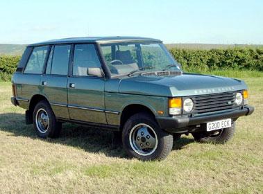 Lot 12-1989 Range Rover Vogue Turbo D