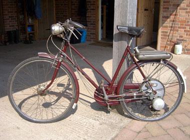 Lot 4-BSA Winged Wheel Ladies