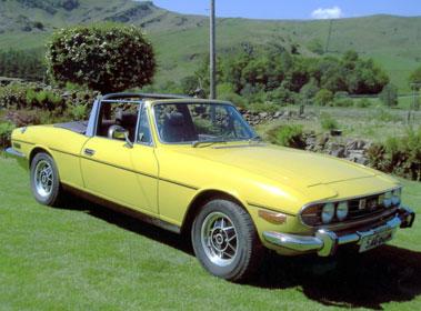 Lot 51-1974 Triumph Stag
