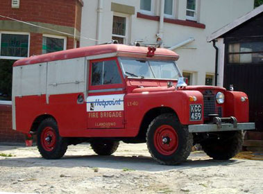 Lot 16-1961 Land Rover 109 Redwing Fire Appliance FT/5