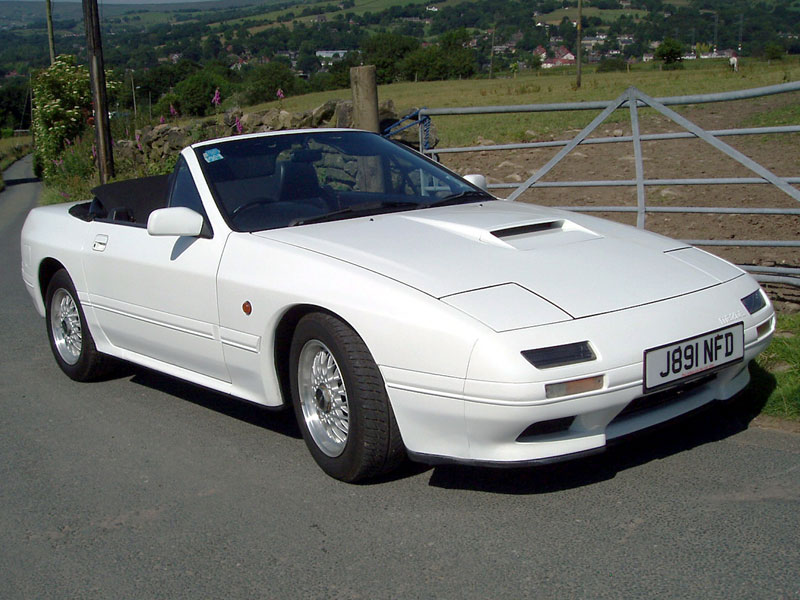 Lot 2-1992 Mazda RX-7 Turbo Cabriolet