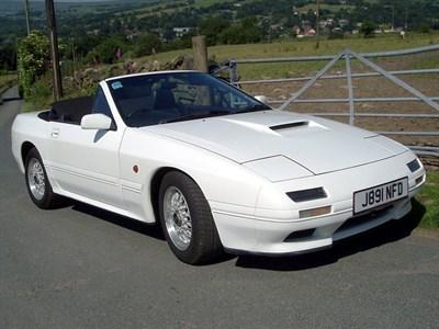 Lot 78-1992 Mazda RX-7 Turbo Cabriolet