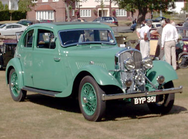 Lot 71-1935 Rover Speed 14 Streamline Coupe