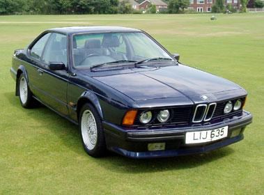 Lot 2-1988 BMW 635 CSi
