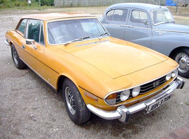 Lot 24-1975 Triumph Stag