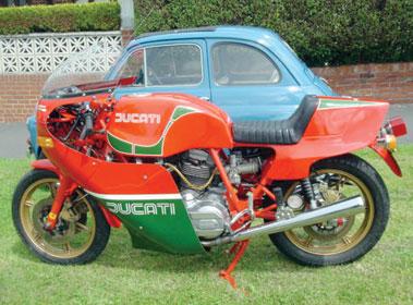 Lot 11-1980 Ducati 900 Mike Hailwood Replica