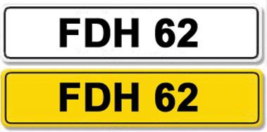 Lot 5-Registration Number FDH 62