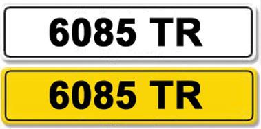 Lot 7-Registration Number 6085 TR