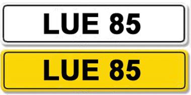Lot 8-Registration Number LUE 85